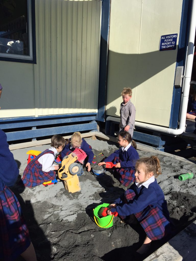 New Playground Equip at St Joseph's Kaikoura